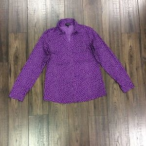 The Limited Purple Long Sleeve Button Down